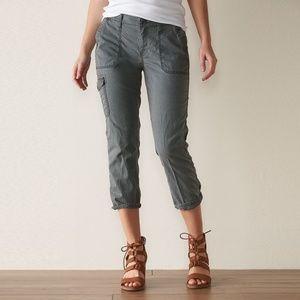 Sonoma Capri Cargo Pants Grey Size 2